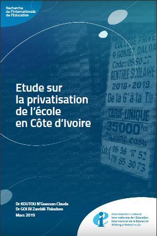 Rapport de recherche sur la privatisation de l'école en Côte d'Ivoire