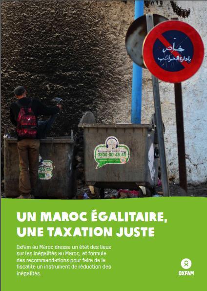 """""""UN MAROC ÉGALITAIRE, UNE TAXATION JUSTE"""""""