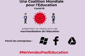 Attention : risque majeur de privatisation de l'éducation mondiale !